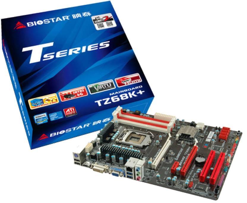 Biostar TZ68K+ Motherboard