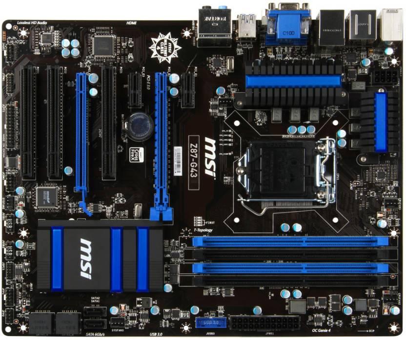 MSI Z87-G43 Motherboard