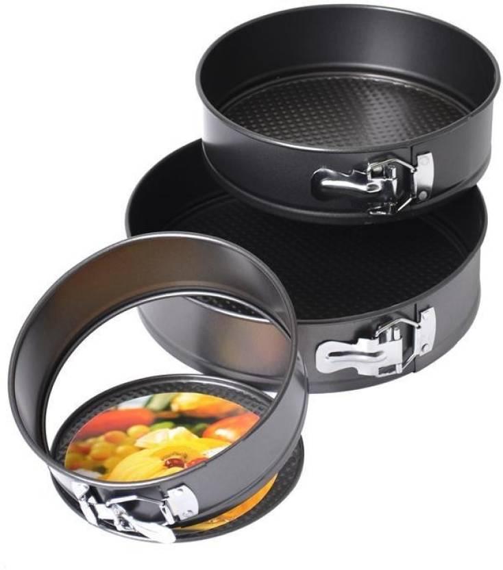 Fantastisk! Fantastisk mad TAG3 Round Spring Form Cake Mold Pan Nonstick Tin Carbon Steel 3 HO55