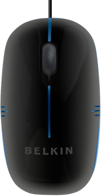 Belkin M100 Compact Wired Optical Mouse