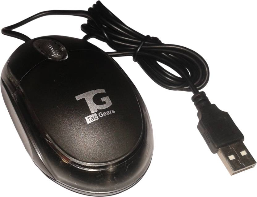 TacGears TG-WM-6001 Wired Optical Mouse Wired Optical Mouse