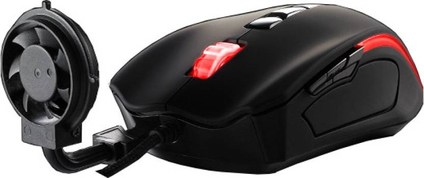 d8e622bdd1e Tt eSPORTS Black Element Cyclone Edition Wired Laser Gaming Mouse ...