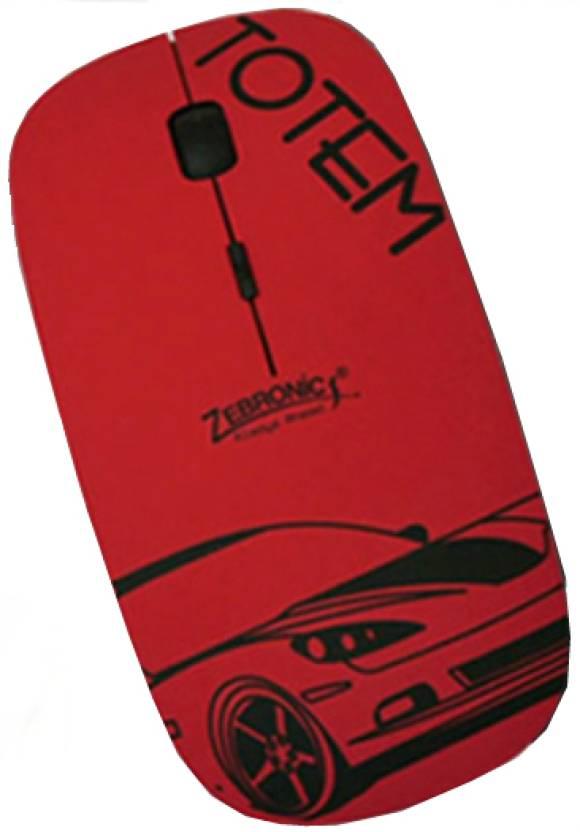 Zebronics WOM 1000 Totem Wireless Optical Mouse
