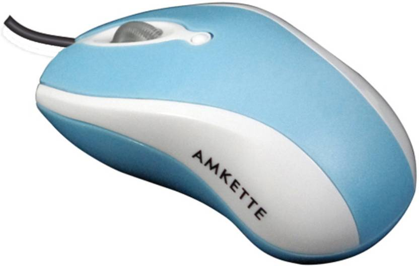 Amkette Wave Wired Optical Mouse