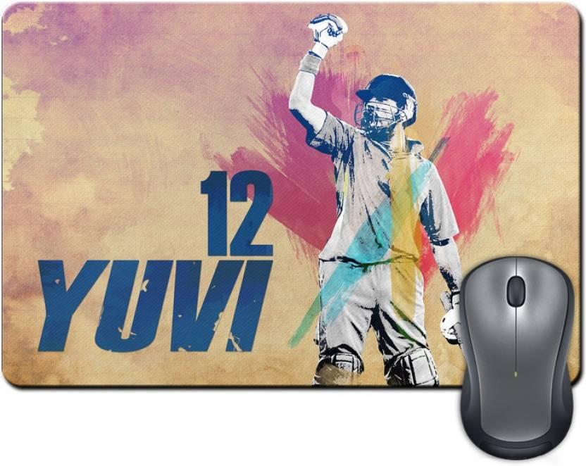ShopMantra Yuvraj Singh The Champ Mousepad