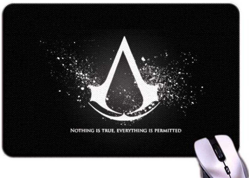 Bluegape Assassins Creed Logo Mousepad Bluegape Flipkart