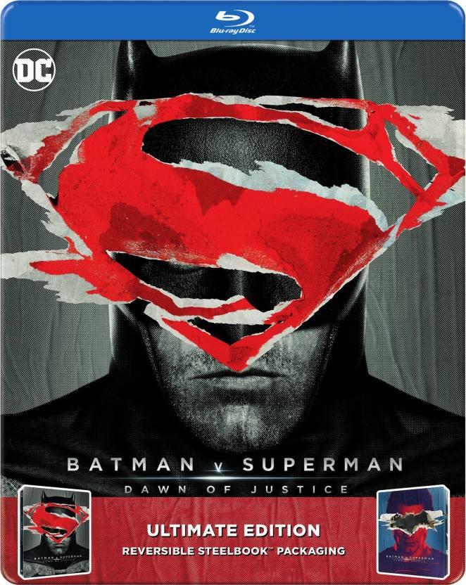 Batman V Superman: Dawn of Justice - Ultimate Edition Steel Book