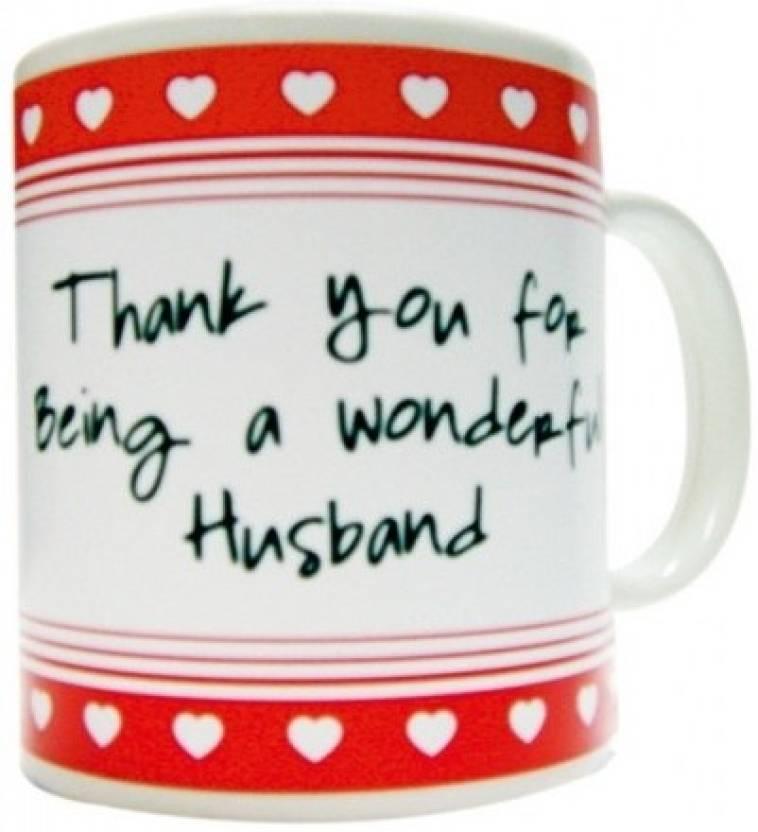Everyday Gifts Best Ever Gift For Husband Ceramic Mug