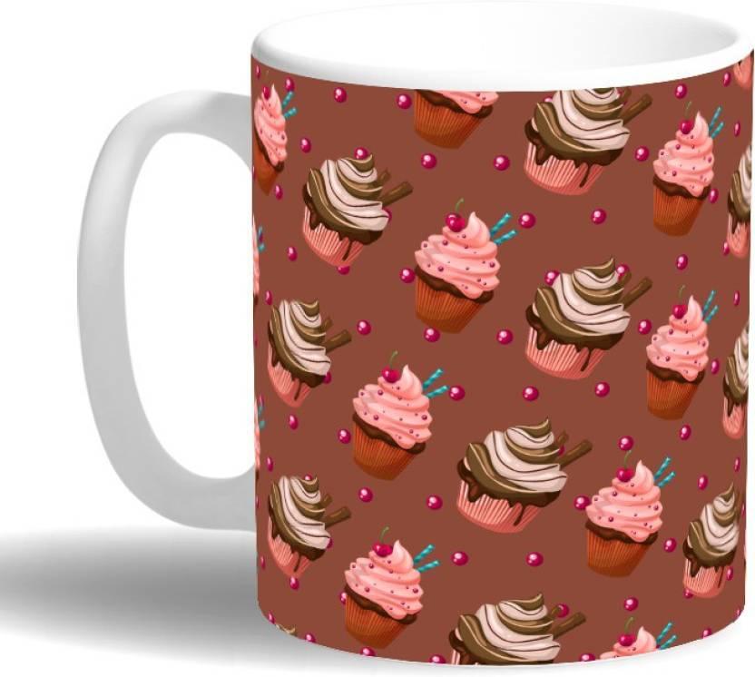 PRINT OPERA Ice Cream Cups Ceramic Mug Price in India - Buy