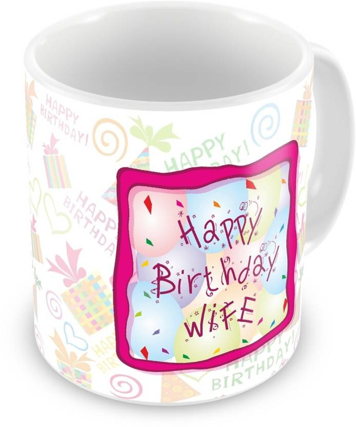 Everyday gifts happy birthday gift for wife ceramic mug price in everyday gifts happy birthday gift for wife ceramic mug negle Choice Image