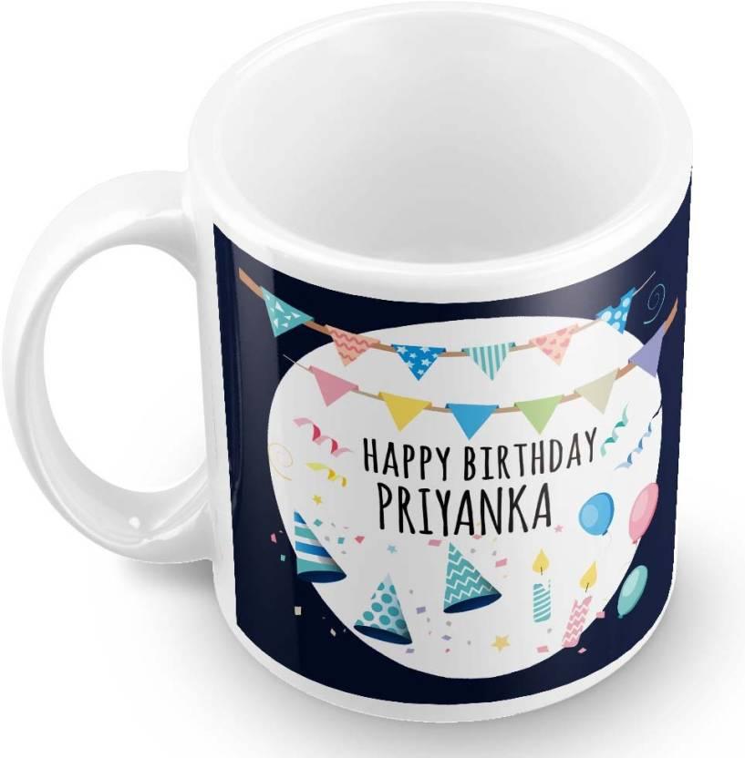 Posterchacha priyanka name happy birthday gift ceramic mug price in posterchacha priyanka name happy birthday gift ceramic mug negle Images