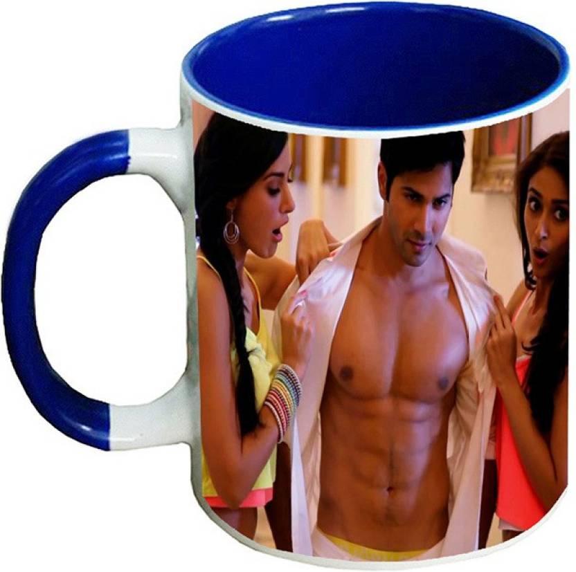 Muggies Magic New Popular Actor Varun Dhawan Six Pack Abs Blrh 11 Oz