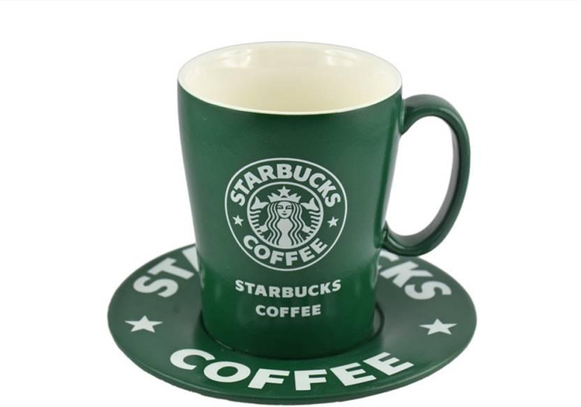 Barworld 180 Ml Starbucks Coffee Mug 077 Ceramic