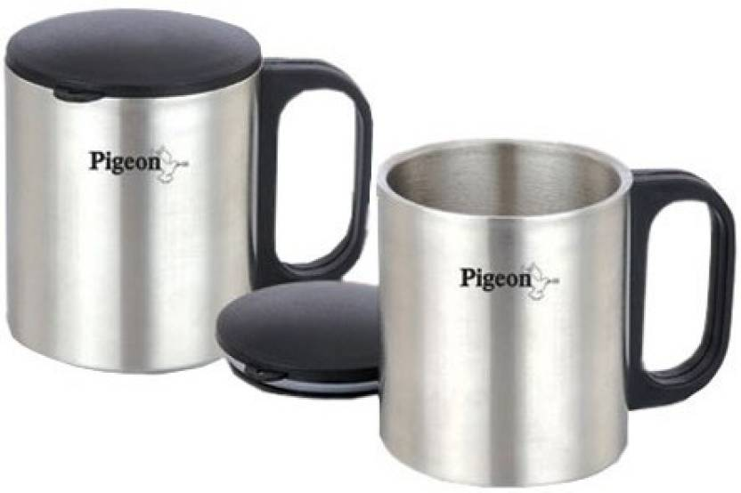 Pigeon Double Coffee Cup Stainless Steel Mug