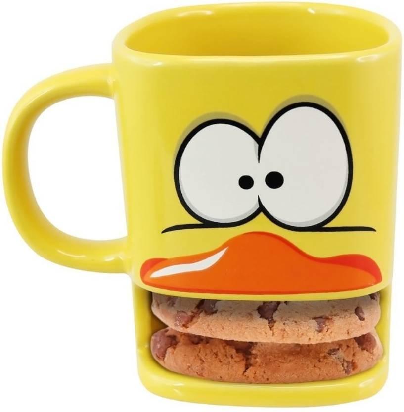 Its Our Studio Brew Duck - Yellow Ceramic Mug