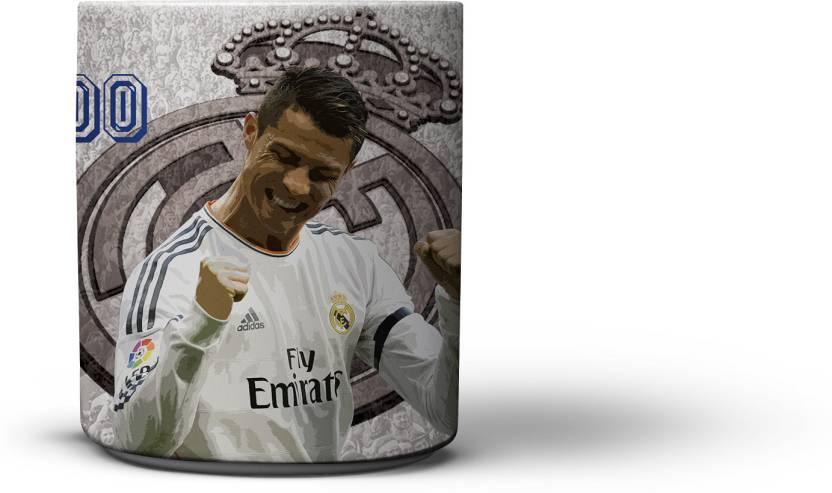 innovative design 99a4a 9f080 The Nodding Head Coffee Cristiano Ronaldo Real Madrid ...