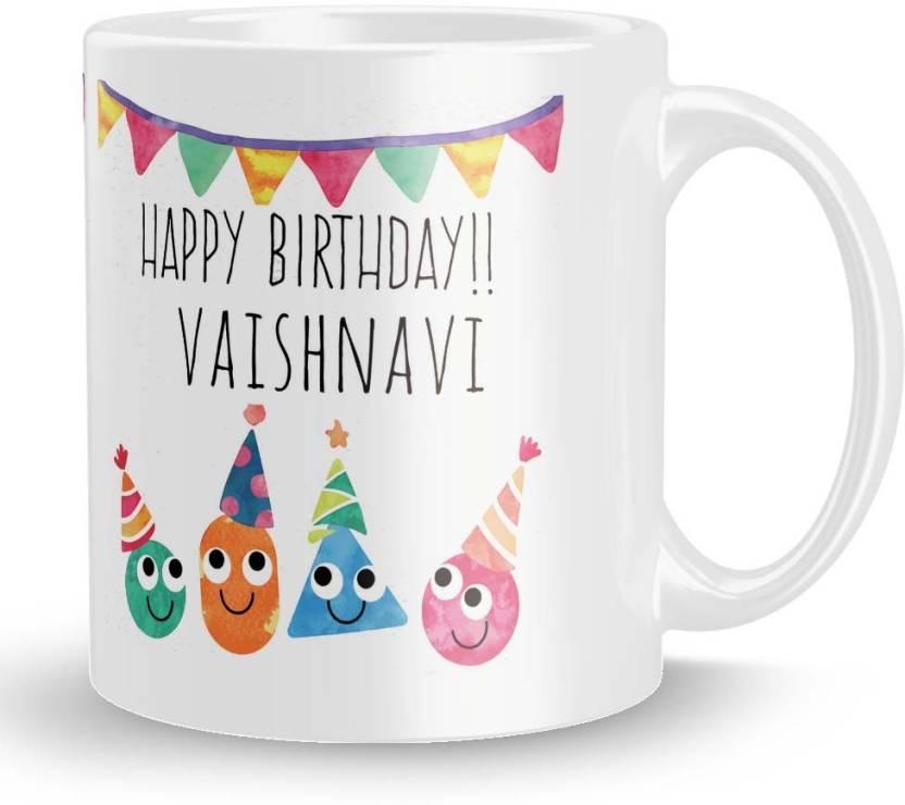 Posterchacha Vaishnavi Personalised Custom Name Happy Birthday Gift