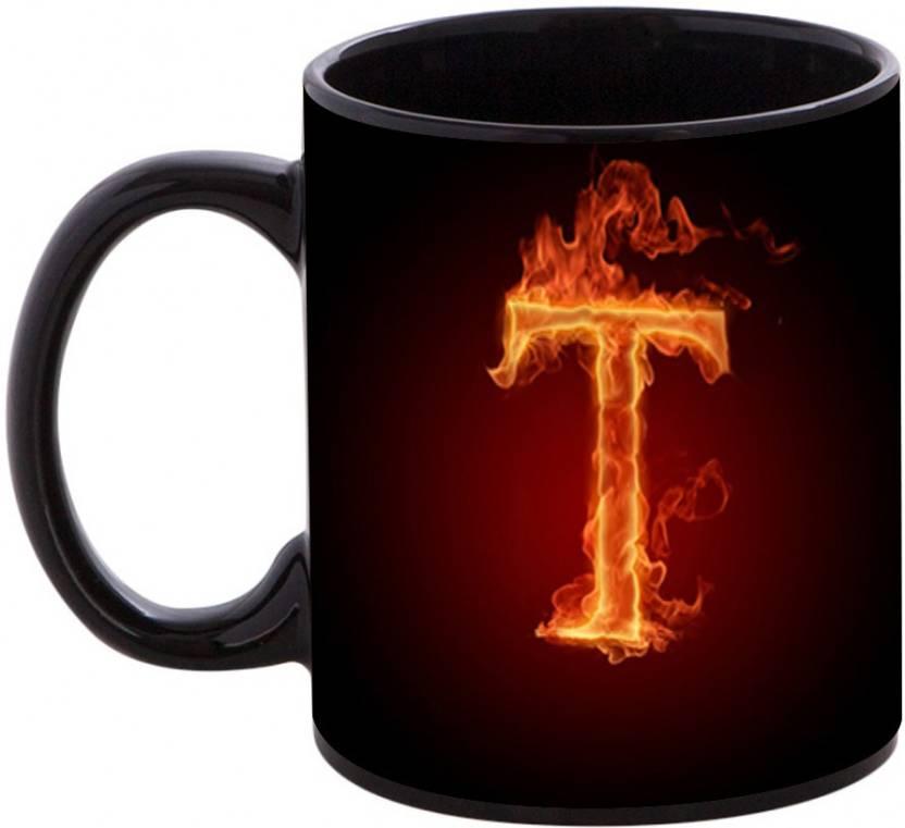 shopmania happy birthday gift for starting letter t ceramic mug