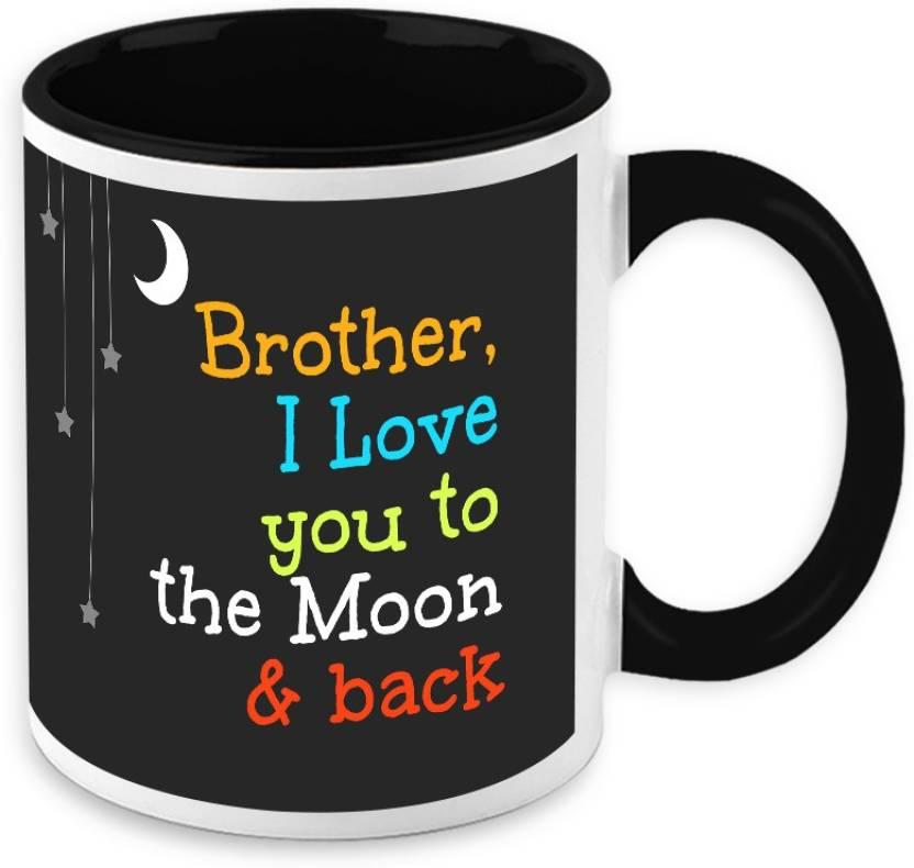 Homesogood Gift For Raksha Bandhan Brother I Love You To The Moon
