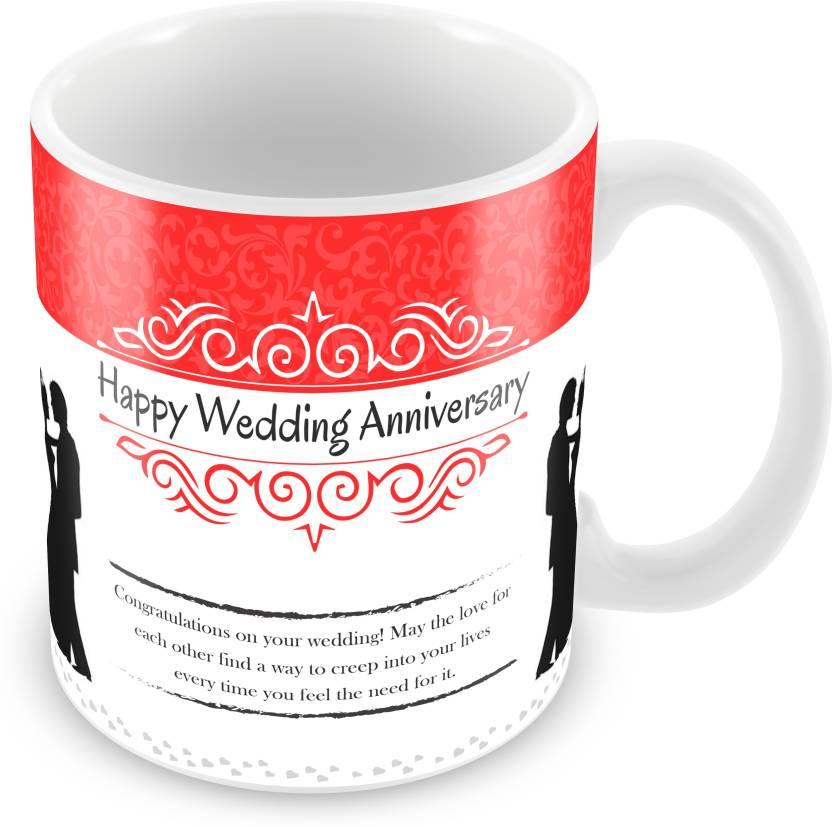 Prinzox Happy Wedding Anniversary wishes with Class theme