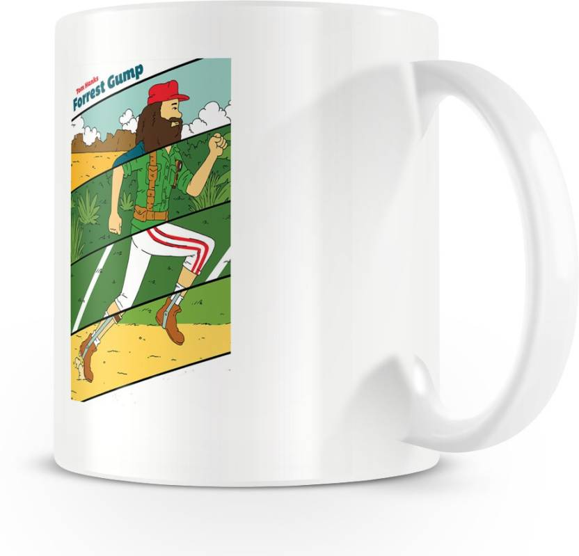 Posterchacha Amazing Forrest Gump Movie Coffee Ceramic Mug Price in
