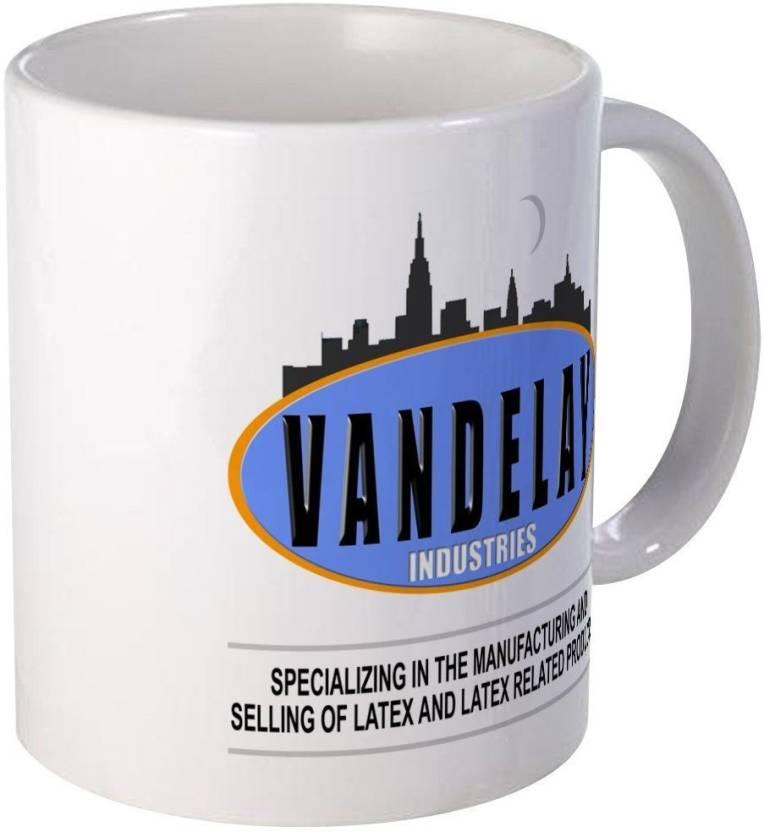 Muggies Magic Seinfeld Vandelay Industries Coffee Novelty Cup Ceramic Mug