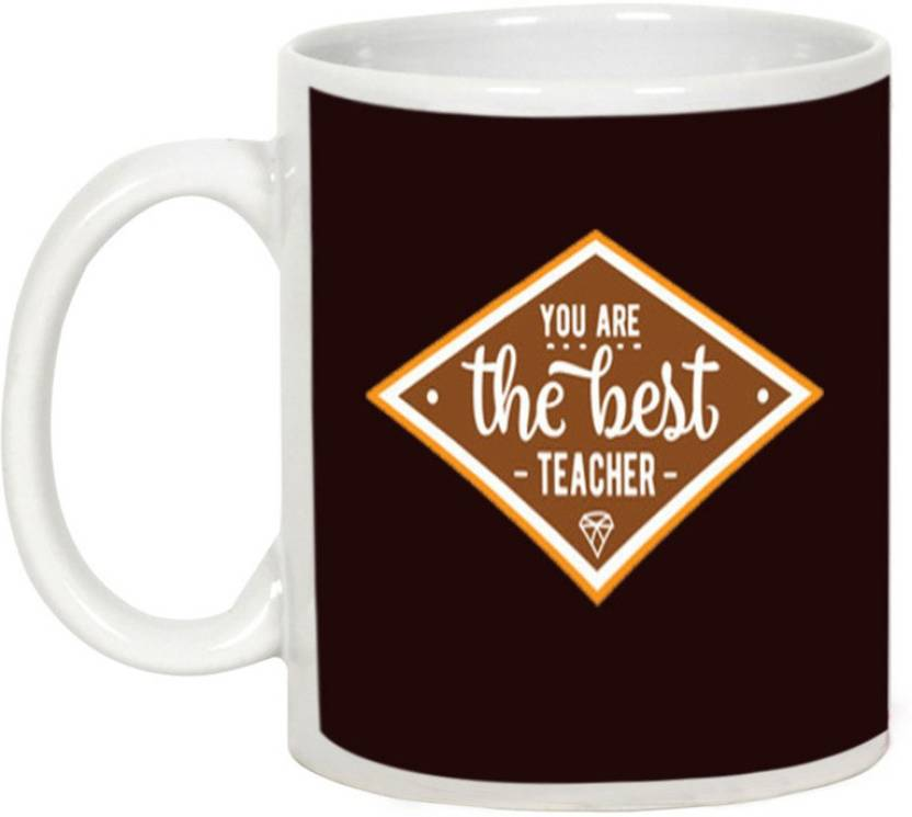 AllUPrints The Best Teacher Ceramic Mug