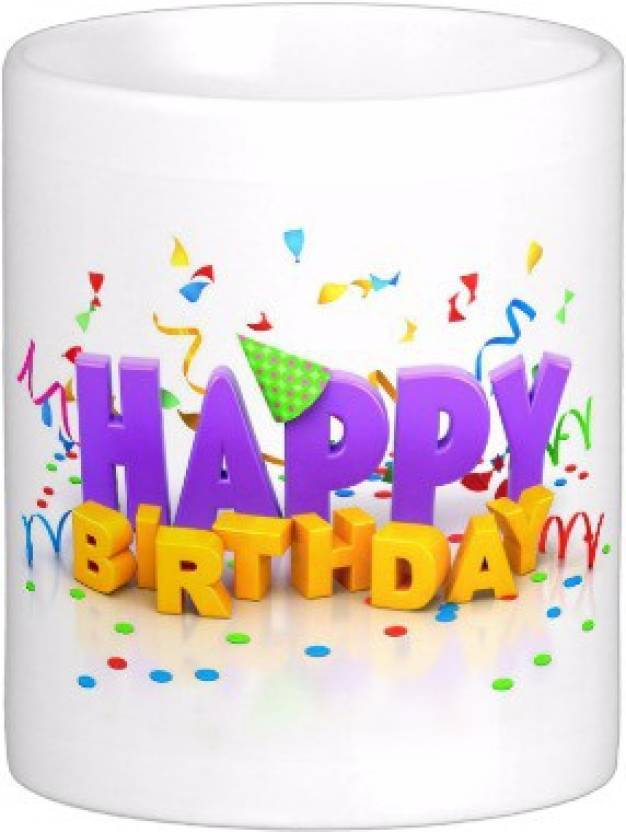 Exoctic Silver Happy Birthday To You B Day 007 Ceramic Mug Price