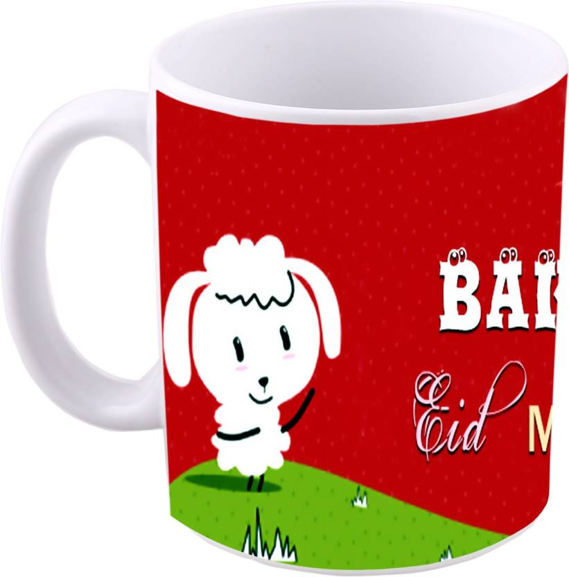 MS Bakra eid mubarak Ceramic Mug Price in India - Buy MS