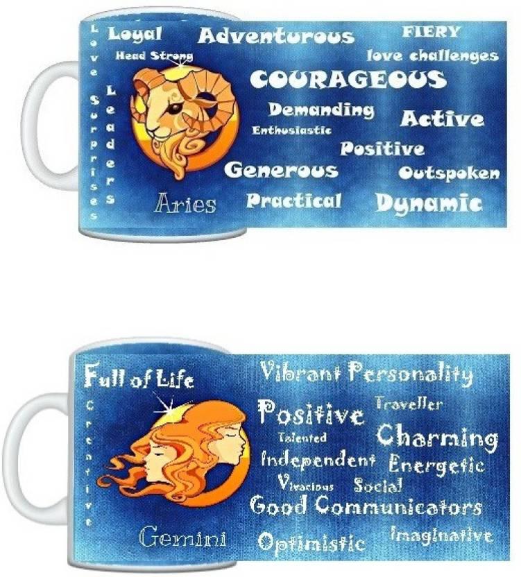 CreativesKart Zodiac Aries (M) Gemini (F) Compatibility