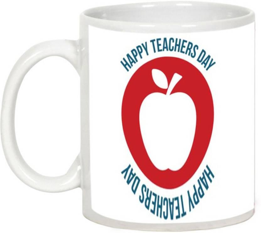 AllUPrints Celebrate Teachers Day Ceramic Mug