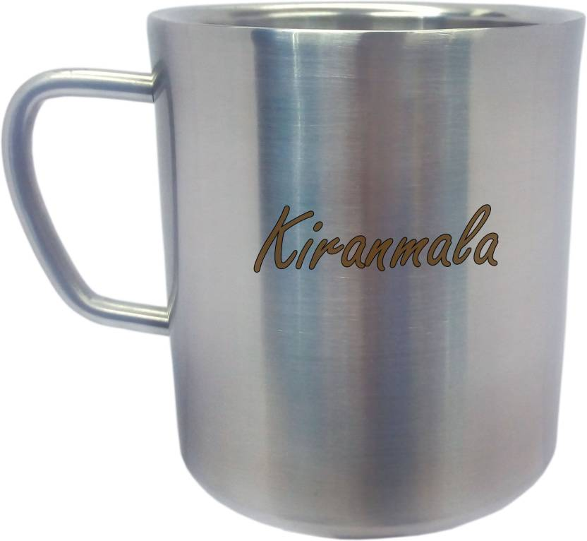 DJ Kiranmala Personalised Double Walled Stainless Steel Mug