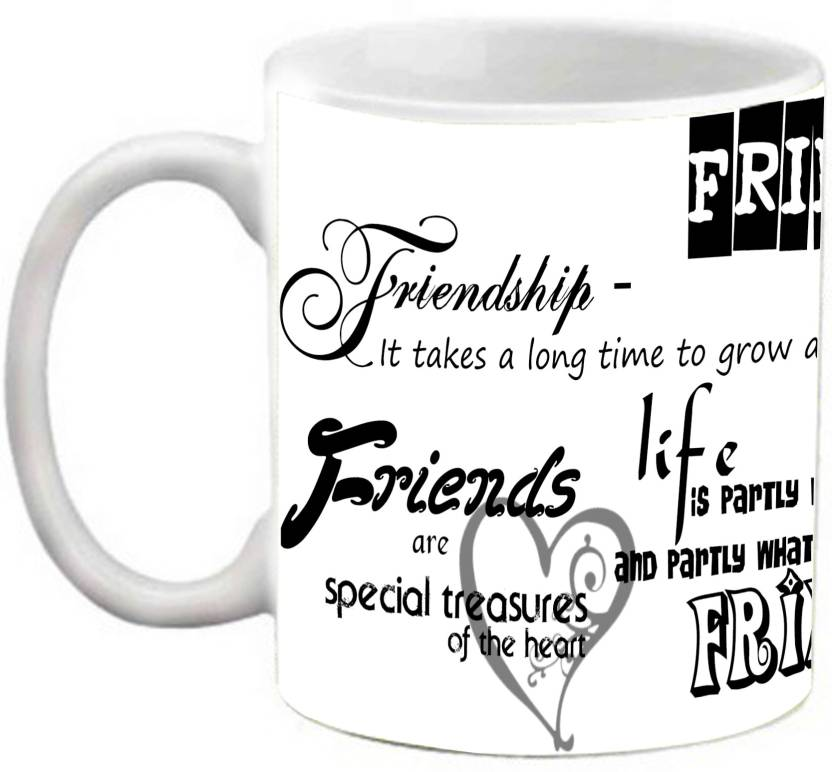 efw best friends forever friendship quotes printed coffee ceramic