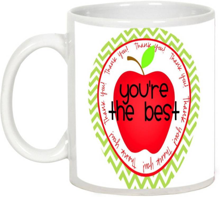 AllUPrints Teacher You Are The Best Ceramic Mug
