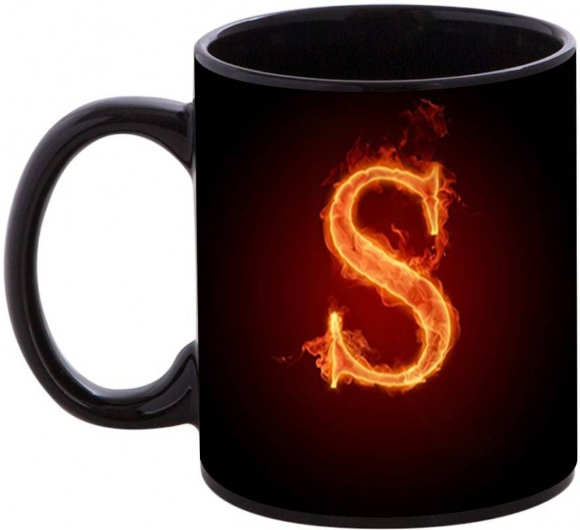 Shopmania Happy Birthday Gift For Starting Letter S Ceramic Mug