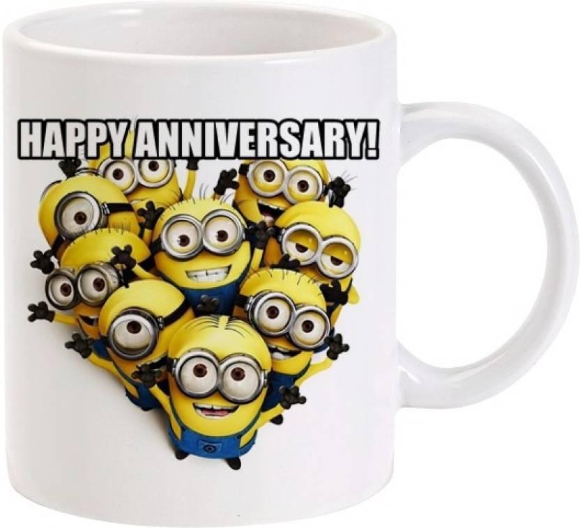 Lolprint Happy Anniversary Funny Meme Ceramic Mug Price In India