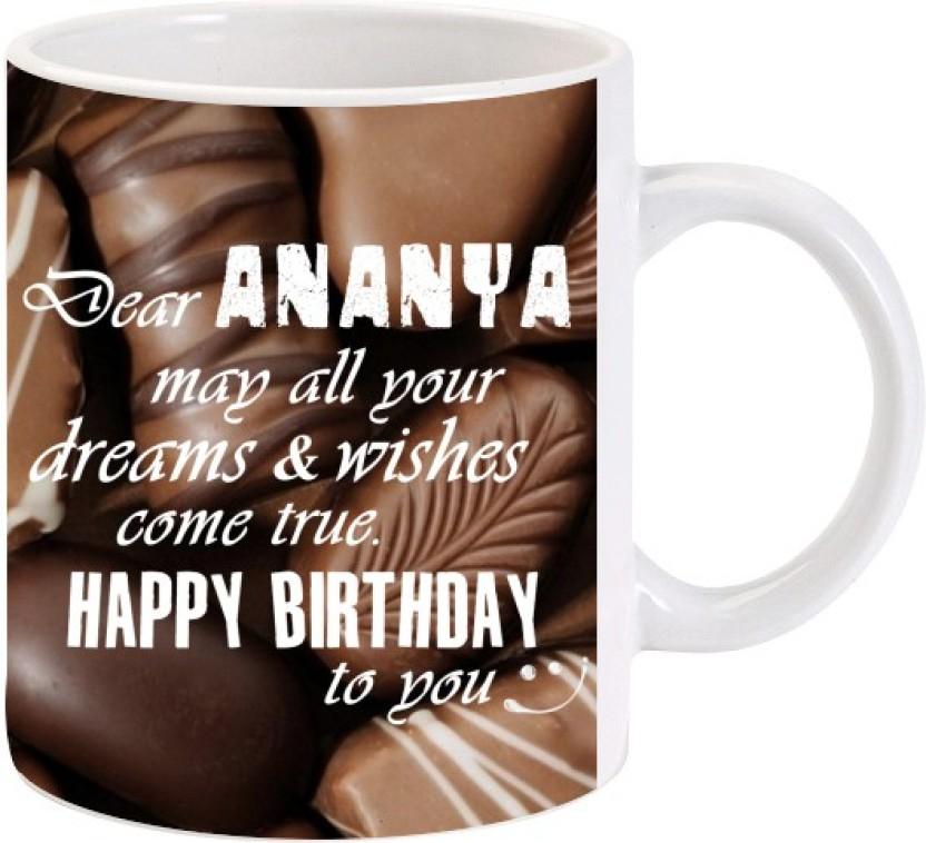 lolprint happy birthday ananya ceramic mug price in buy