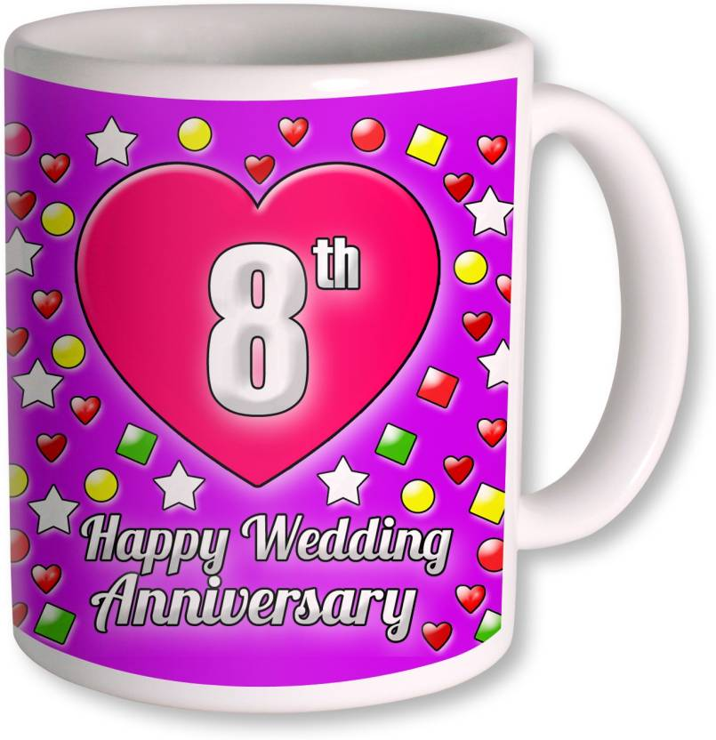 8th Wedding Anniversary.Photogiftsindia Gifts For 8th Wedding Anniversary Coffee
