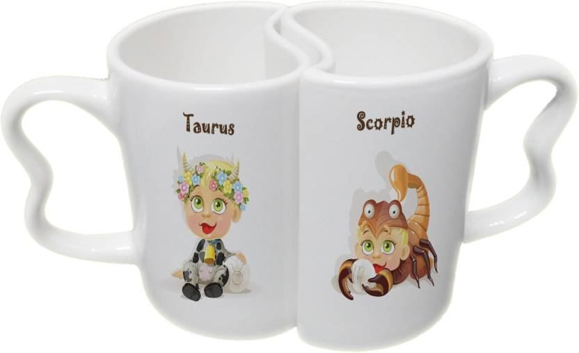Ucard Taurus And Scorpio Zodiac Sign Valentines Day Couple Bone