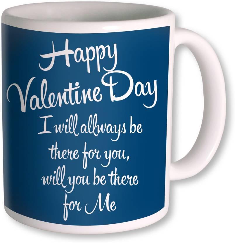 Photogiftsindia Happy Valentine Day Gifts For Girlfriend Ceramic Mug