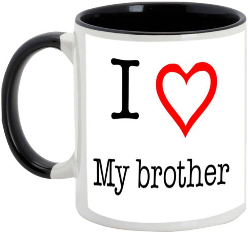 Alluprints Gift For Bahiya Dooj Brother Sister I Love My Sweet