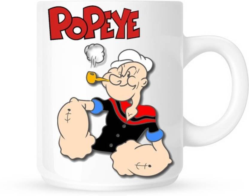 g g popeye the sailor man ceramic mug price in india buy g g