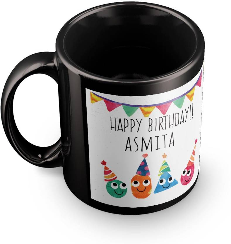 posterchacha asmita personalised custom name happy birthday gift tea