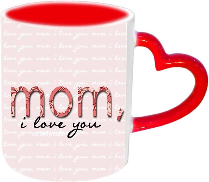Jiya Creation1 Mom I Love You With Love You Wallpaper Red Heart