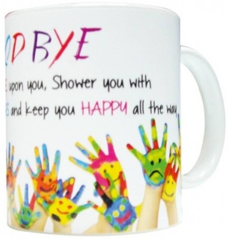 everyday gifts farewell gift for good bye ceramic mug price in india