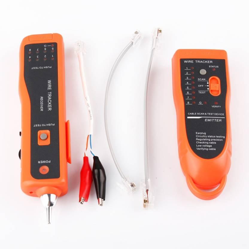 V TECH Wire Tracker Tracer Ethernet LAN Network Cable Tester Telephone  RJ11/RJ45 Digital Multimeter