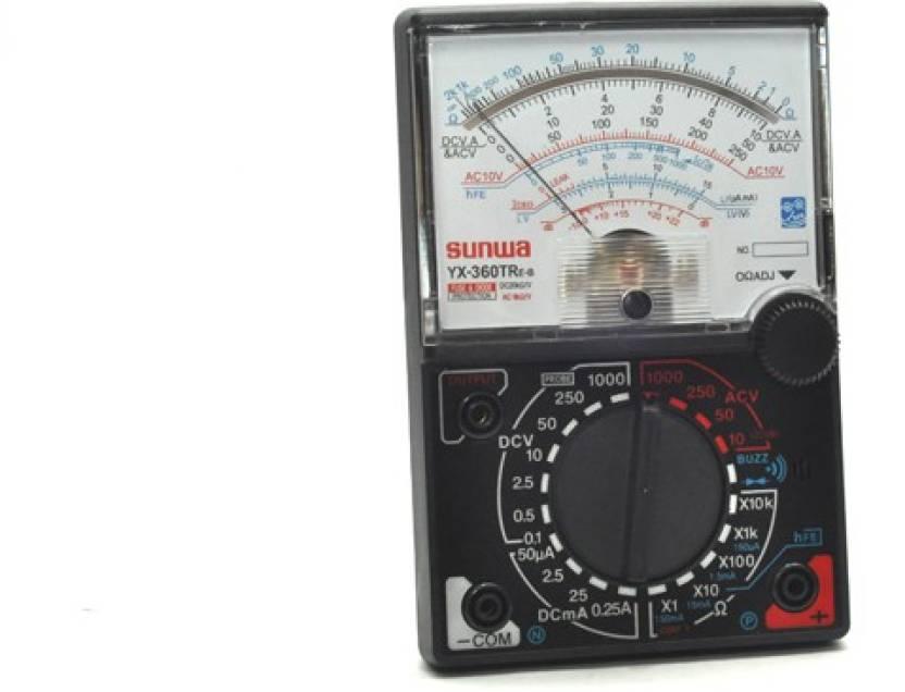 Easy SUNWA YX-360 Analog Multimeter