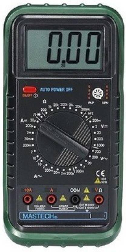 Mastech M92ah Digital Multimeter Price In India Buy Mastech M92a