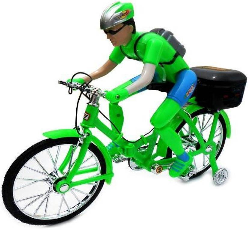 Shop & Shoppee Musical Battery Operated Bicycle With Light & Sound
