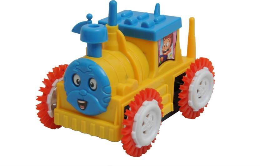 Happy Kidz Cartoon Tumbling Train Engine Cartoon Tumbling Train